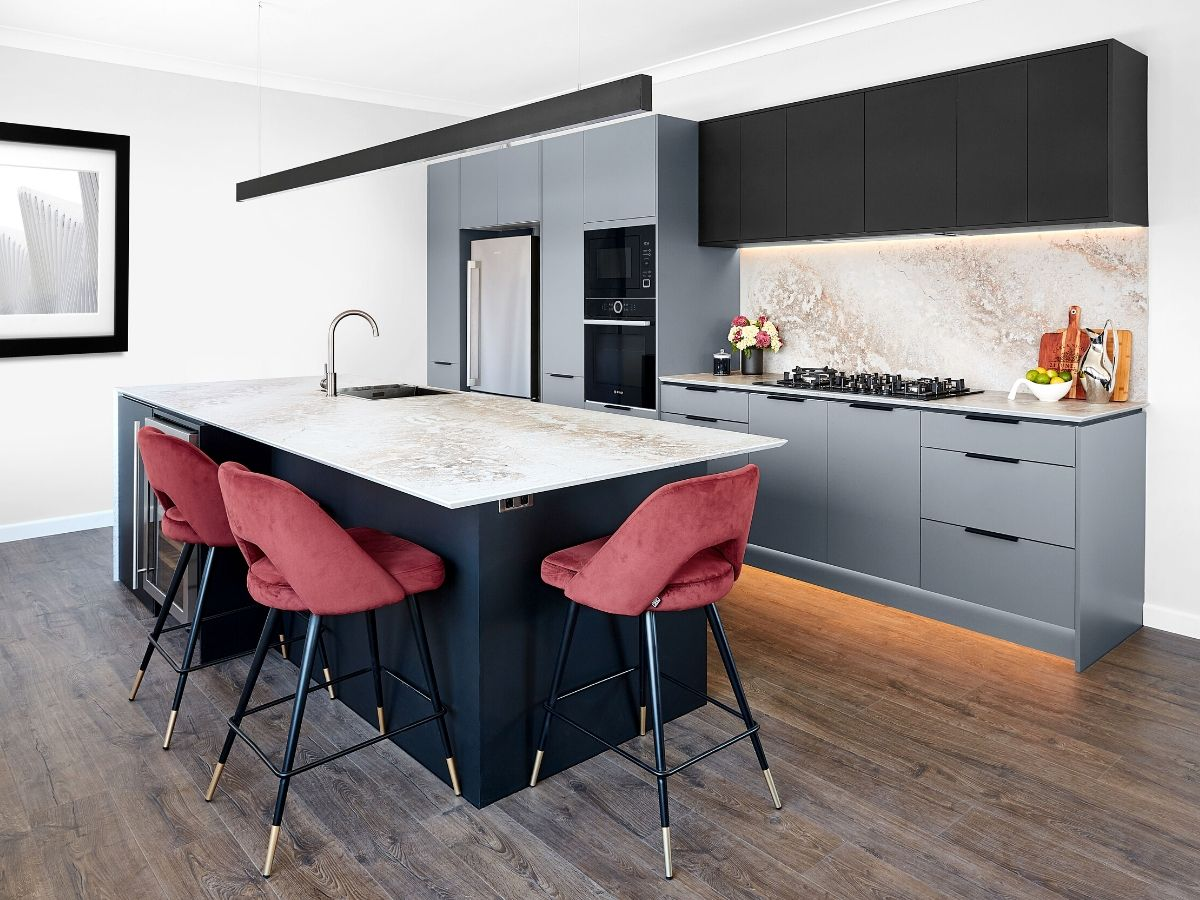 Modern moody kitchen