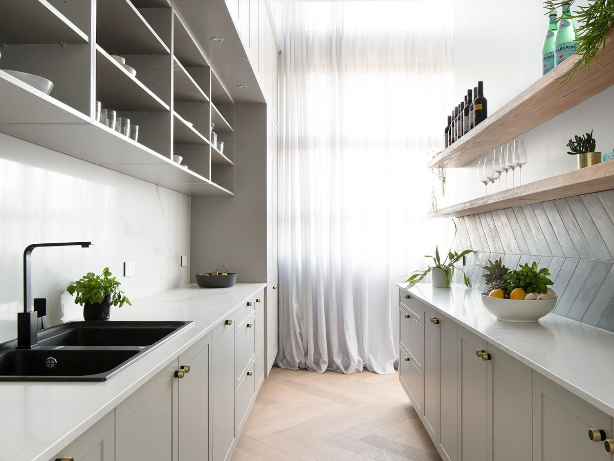 Neutral Butler's Pantry
